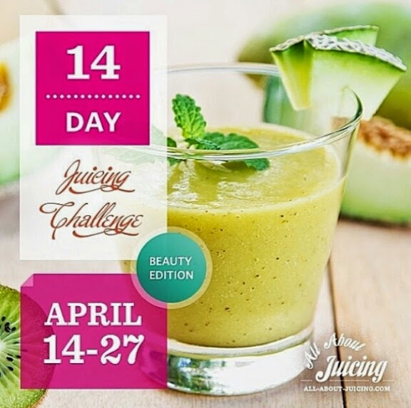 14 Day Juicing challenge - Beauty edition