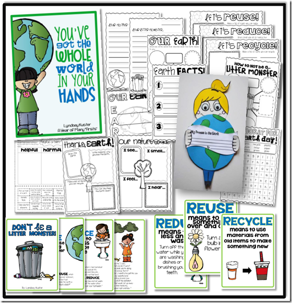Earth Day Activities and Craft  A Year of Many Firsts