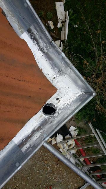 réparation gouttière zinc