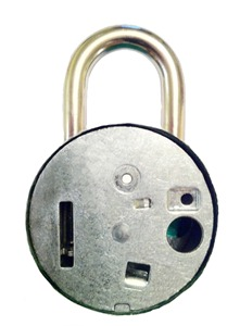 Sheva Apelbaum Combo Lock Backside Plate