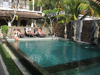 Fancy digs in Ubud