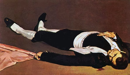 El torero muerto, Édouard Manet (1865) National Gallery of Art, Washingon, DC, USA