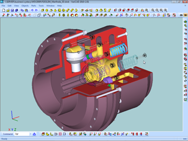 VariCAD mechanical engineering software