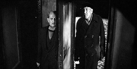 120. Otto hides while a air raid warden inspects