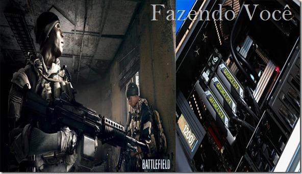 Battlefield 3 com super resolução