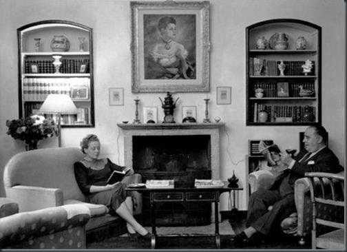 Amália Rey Colaço e Robles Monteiro 1948