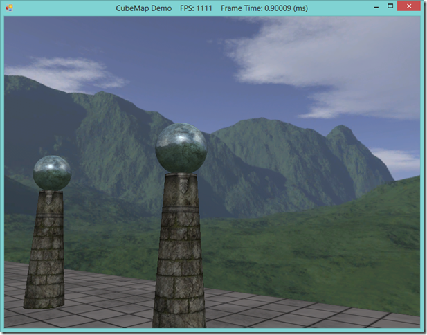Skyboxes and Environmental Reflections using Cube Maps in Direct3D 11 and SlimDX