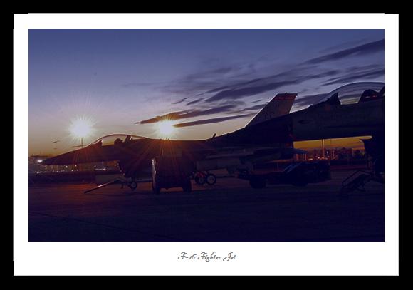 F-16 Combat Aircfraft