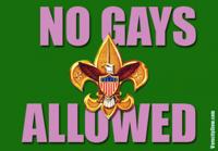 Boy scouts no gays