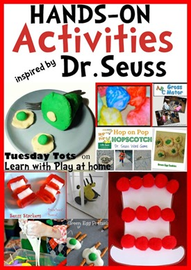 Dr Seuss Activities Pinterest learn with play at home