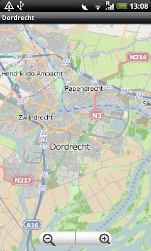 Dordrecht Street Map