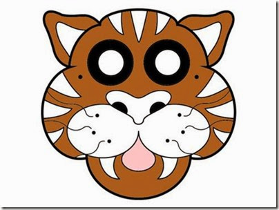 mascara tigre