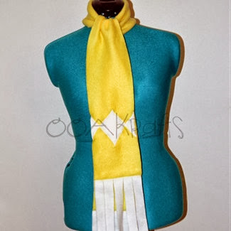 Yellow Power Ranger Scarf from OOAKrafts