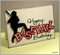 17 Baseball Birthday Card