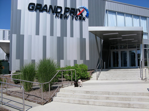 Grand Prix New York is located in this very large building.