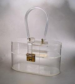Wilardy Lucite purse