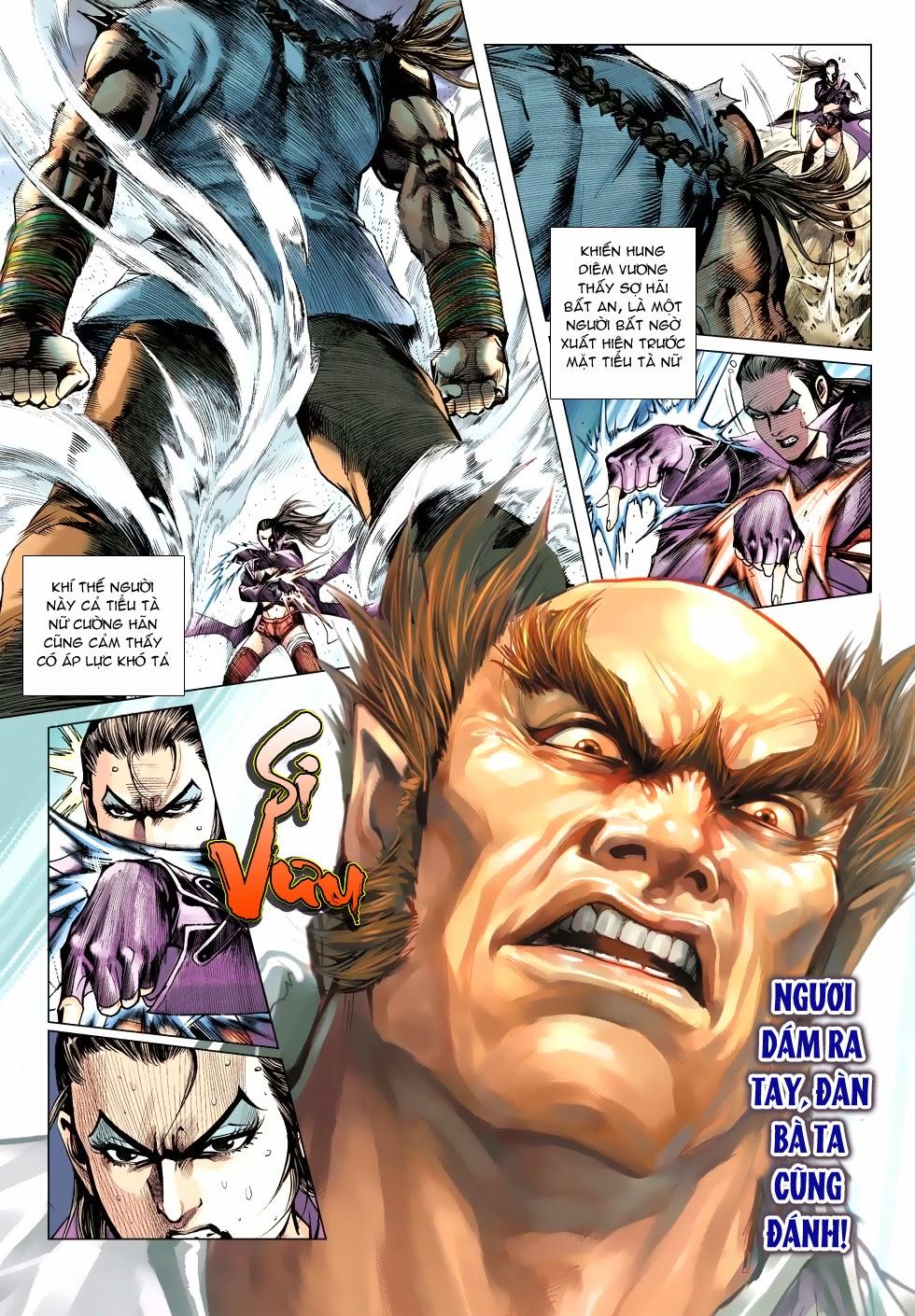 Tân Tác Long Hổ Môn chap 488 - Trang 19