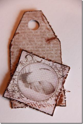 håndlagede merkelapper jul julegaver diy vintage IMG_5544