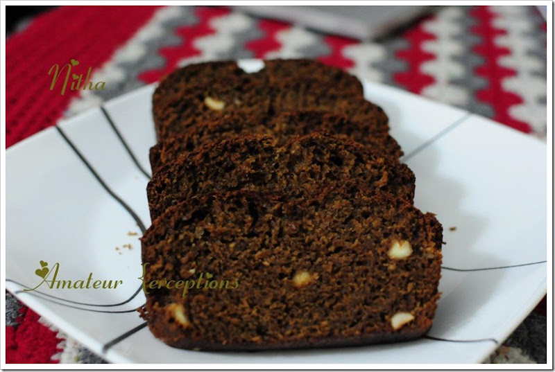 Chocolate Banana Cake 16
