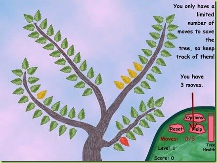 Leaf blight raccogli le foglie