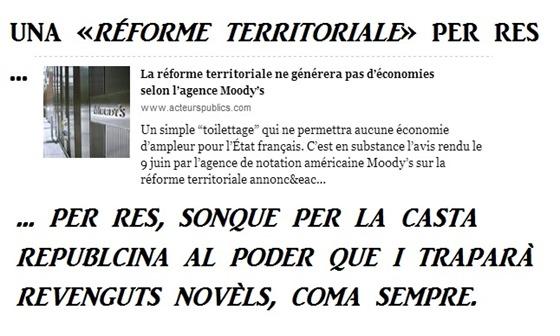reforma territoriala 2014 Acteurs Publics