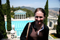 One of the pools at Hearst Castle