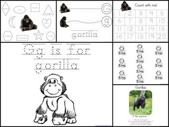 Gg Gorilla  Extras