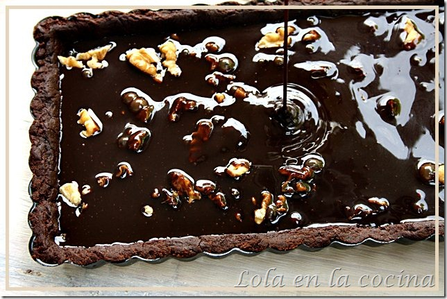 tarta chocolate nueces 2