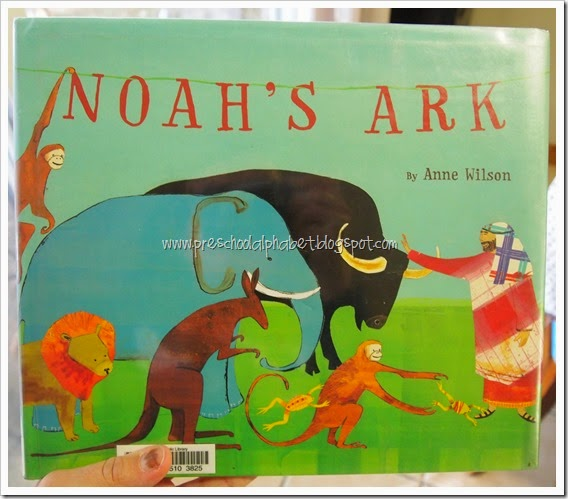 A is for Animals {Noah's Ark} from Preschool Alphabet