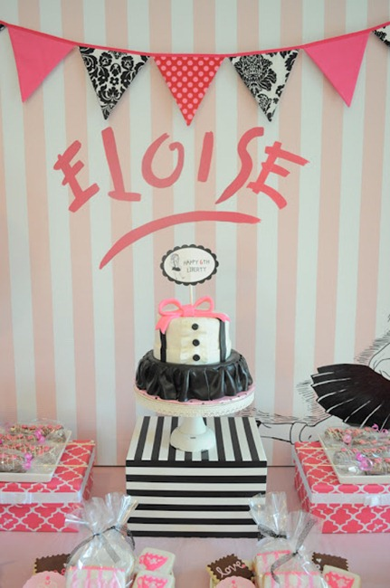 Eloise Book Birthday Party