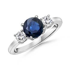 Round-Sapphire-and-Diamond-Three-Stone-Ring--SR0160S-WG-AA-SA