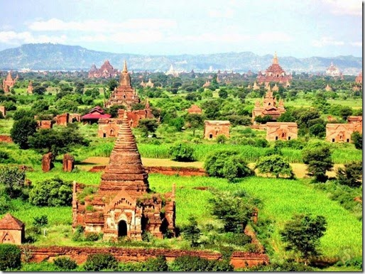 The village of Bagan