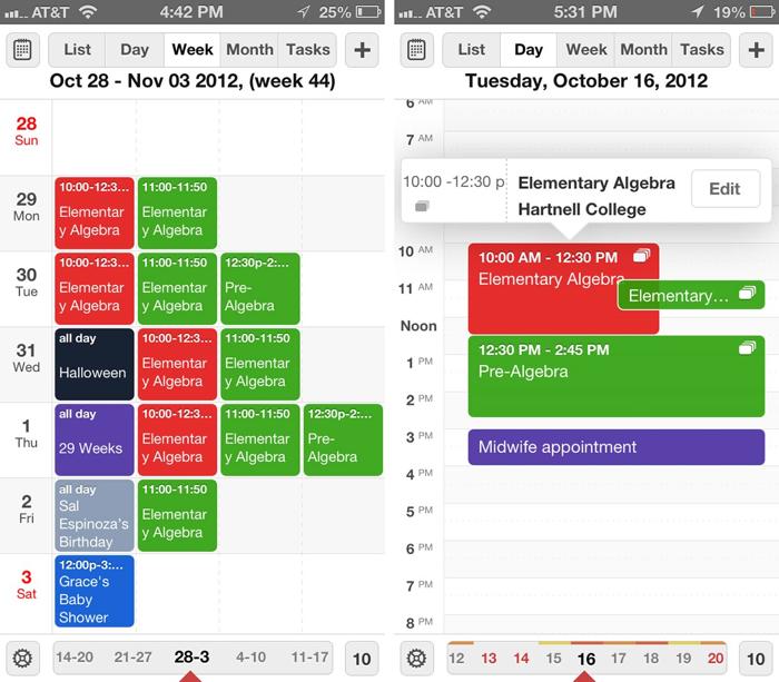 calendar readdle