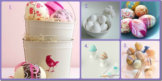 Collage ideas huevos pascua