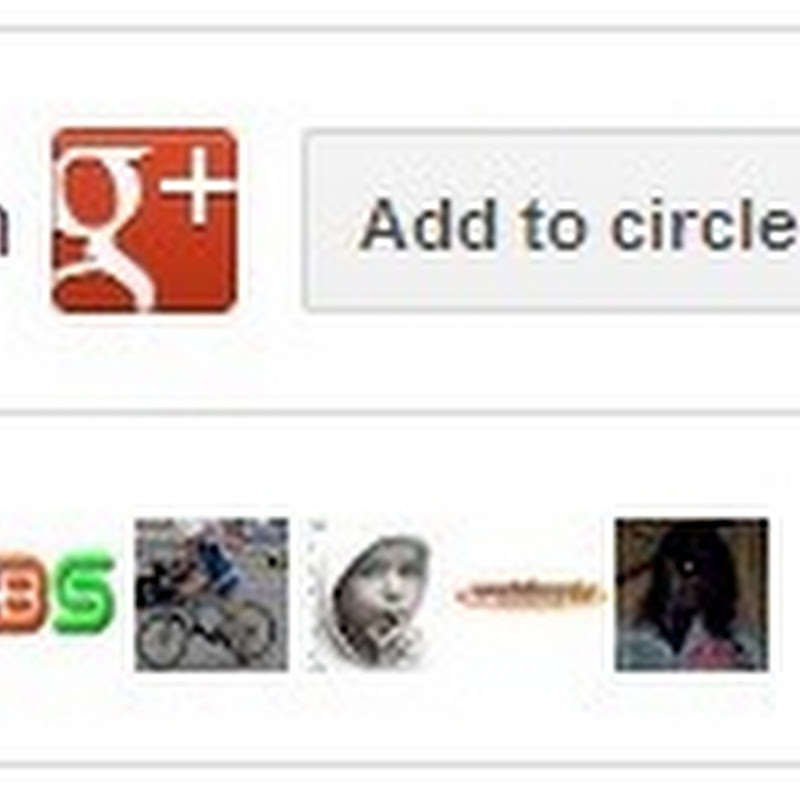 How to add Google + Page badge to your blog