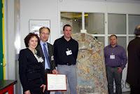 2011 - Grenoble 2 Fevrier 2011 Remise Du Prix Arc Nucleart A La Commune