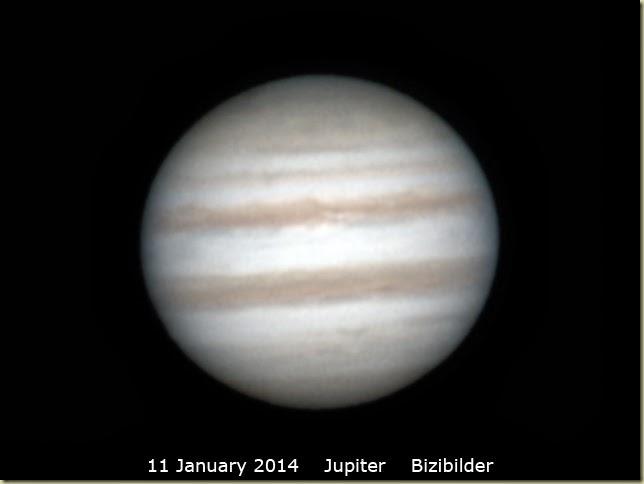 11 Jan 2014 Jupiter
