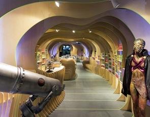 diseño interior Embajada de Marte LAVA