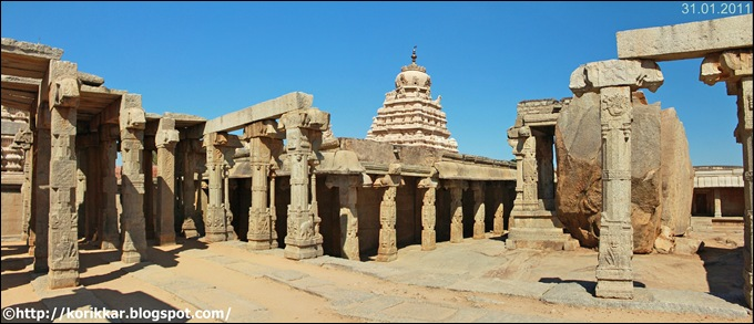 Temple at Lepakshi