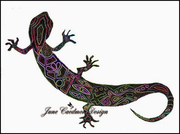 Gecko_Stylized