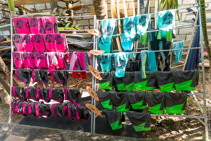 Лайкры и шорты для серфинга
