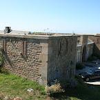 Fermanville: le port et le fort du Cap Lévi