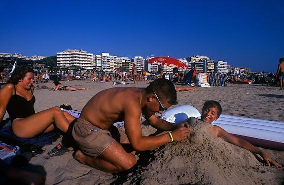 Platja de Llevant Salou, Tarragonès, Tarragona 1996