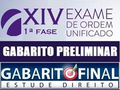XIV OAB - resultado 1ª fase - preliminar