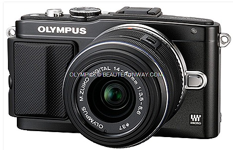 OLYMPUS E-PL5 PEN LITE mirrorless interchangeable-lens camera Micro Four Thirds system cameras M.ZUIKO DIGITAL zoom lens 16.05-megapixel Live MOS Sensor TruePic VI image FAST AF High speed continuous shooting