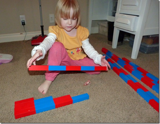 Blue and Red Bars 2