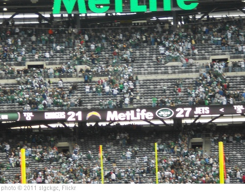 'Jets 27, Chargers 21 - Final Score' photo (c) 2011, slgckgc - license: http://creativecommons.org/licenses/by/2.0/