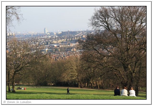 View to south east from Alexandra Palace