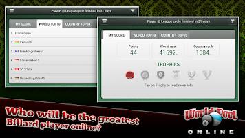 Screenshot of World Pool Online