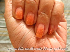 etude house ms tangerine nail polish trio, by bitsantreats